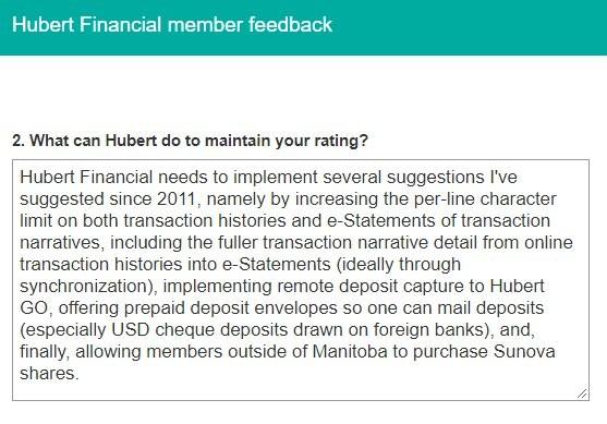 Figure 2: Question #2 from Hubert member feedback survey taken April 24, 2020