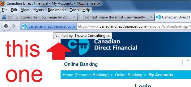 Canadian Direct Financial login part 1
